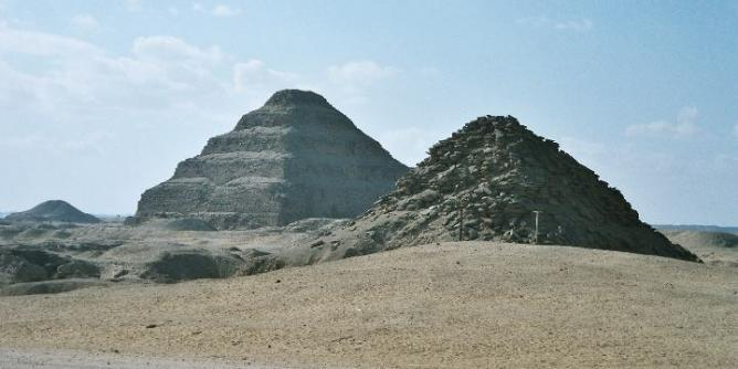 Pyramid of Unas of the Vth dynasty in Saqqara | © Hajor/WikiCommons