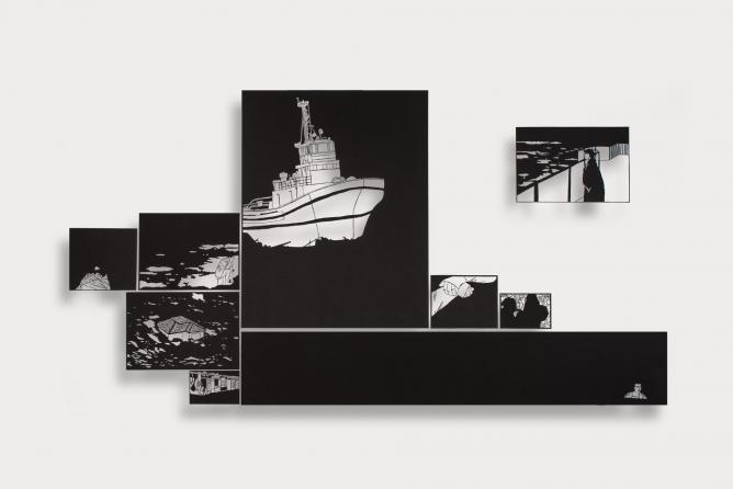 Noa Yekutieli: Memory, home and in between them © Dweck Gallery