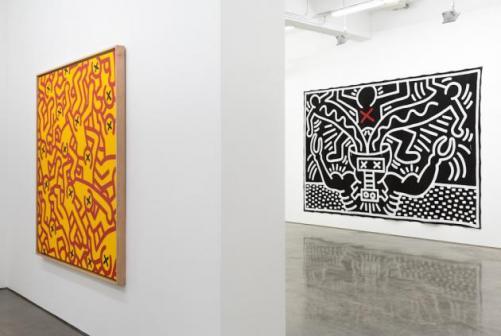 Keith Haring May 3 – June 14, 2014 Installation view