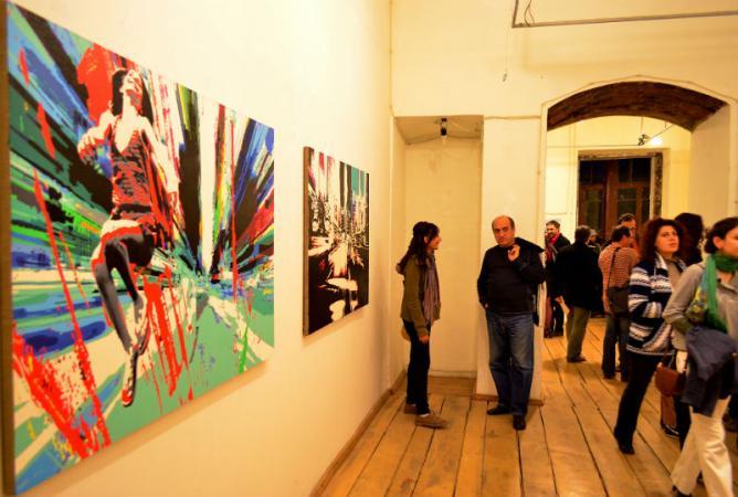 solo exhibition of Diana Hakobyan