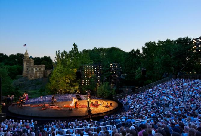 The Public Theatre's Free Shakespeare in the Park