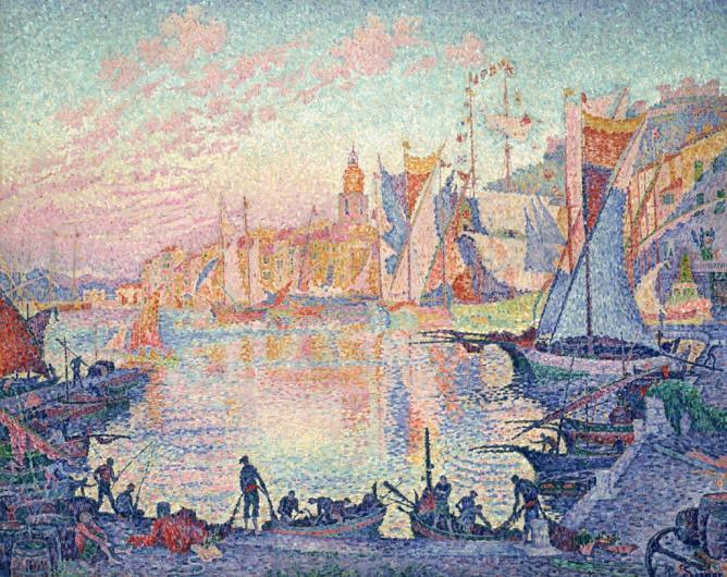 Paul Signac, The Port of Saint-Tropez