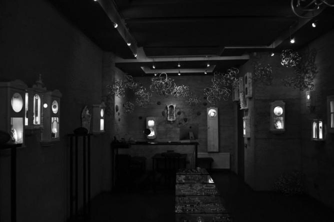 """Interior of Galerija """"terra recognita"""" / © Rimante"""