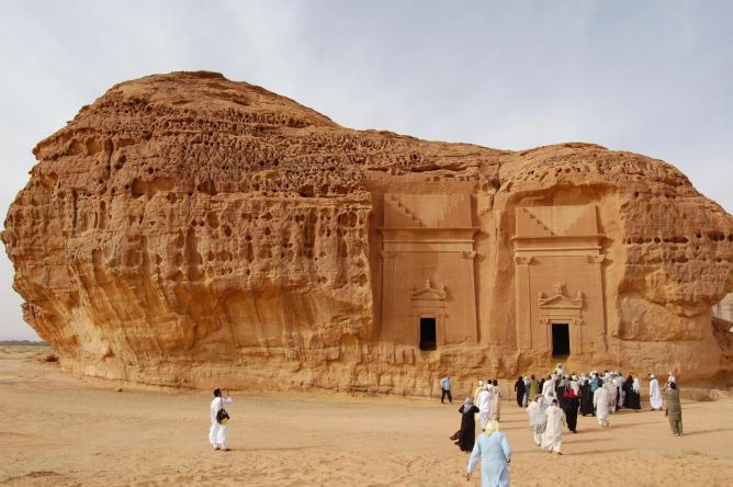 Mada'in Saleh © Flickr/ Omar A.