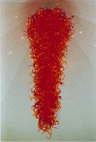 Dale Chihuly, Gonzaga University Red Chandelier