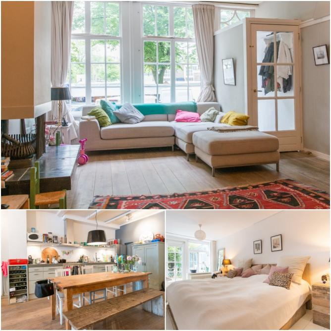 The Best Airbnb Cities For Home Decor Ideas: 10 Stunning Airbnb Apartments In Amsterdam's Jordaan