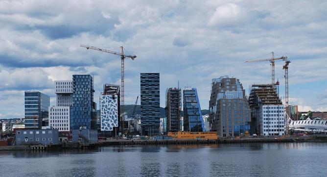 Bjørvika, Oslo | © Helge Høifødt/WikiCommons