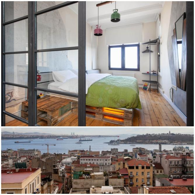 10 Best Places To Stay On Airbnb In Istanbul: Galata