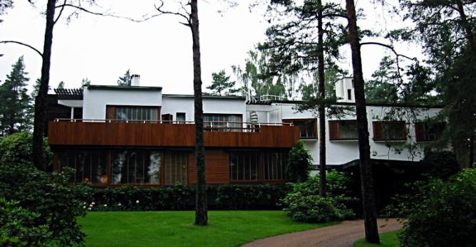 Alvar Aalto's Villa Mairea in Noormarkku, Finland