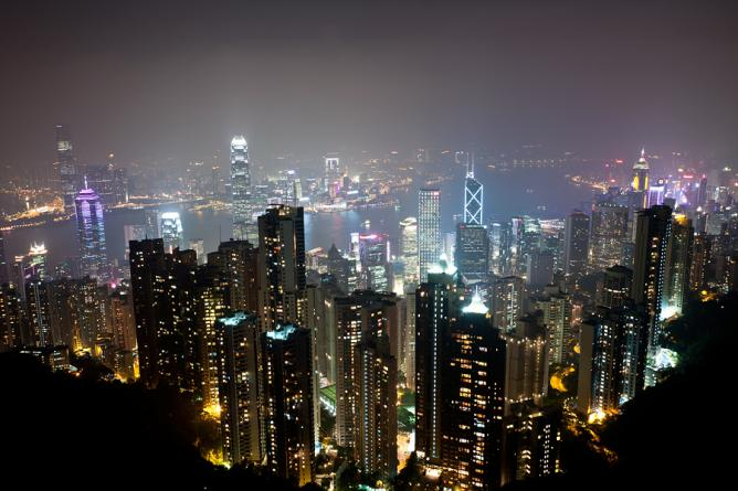 The City of Nights(Lights) from The Peak, Hong Kong | © Nagaraju Hanchanahal/Flickr