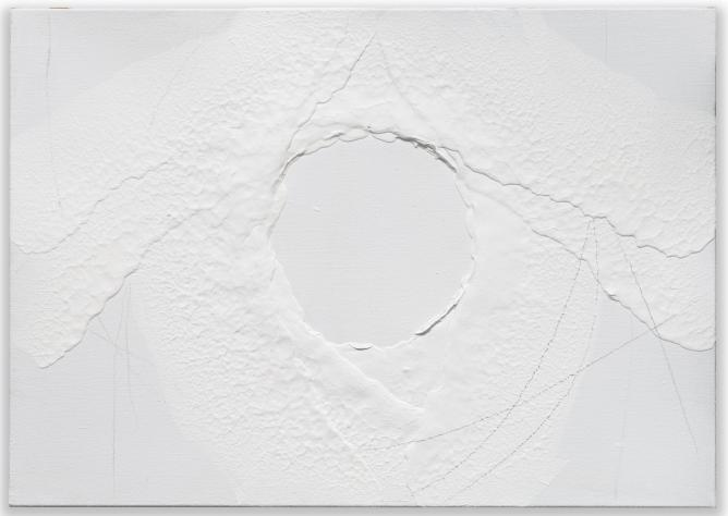 Miquel Barcelo, 'Ile', 2013, mixed media on canvas
