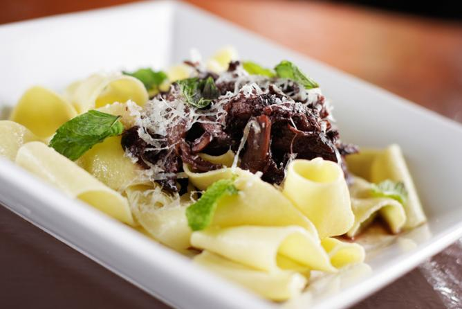Pappardelle with Lamb Ragu | Courtesy of Italia Trattoria