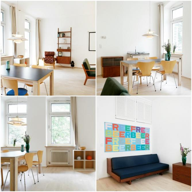 Berlin Airbnb apartment