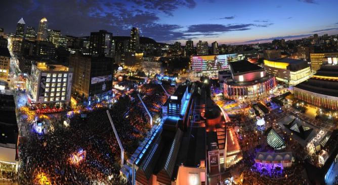 Festival International de Jazz de Montréal Panaroma