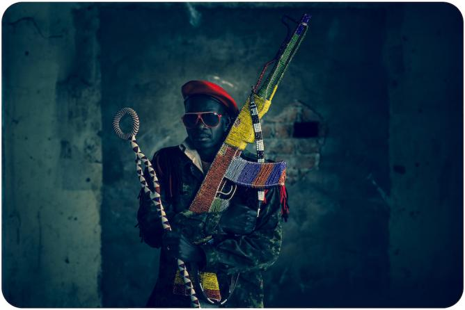 Ijoni – Warrior (Nigeria) © Ralph Ziman