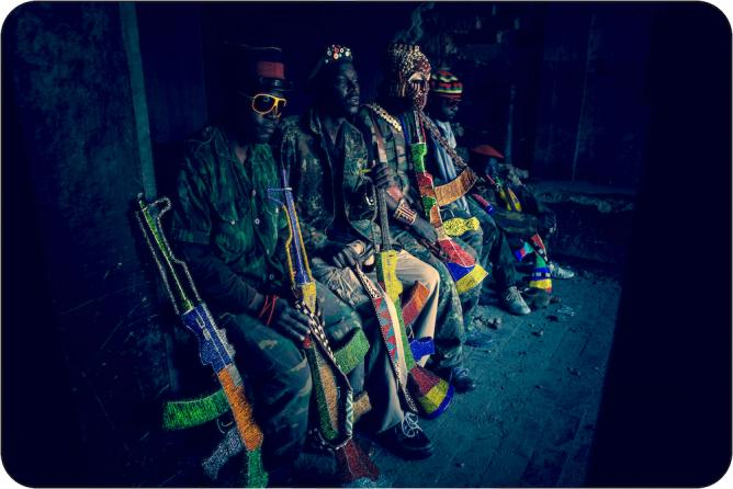 Isi-Puku – Ghosts (Ndebele) © Ralph Ziman