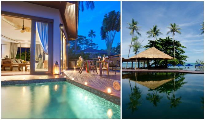 Pool Suite, Akaryn Hotel & Spa