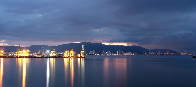 Penang Port © Gp song/WikiCommons