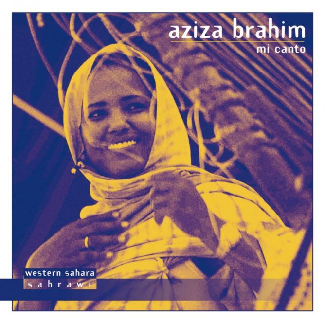 Album cover of Mi Canto by Aziza Brahim