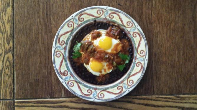 The Huevos Rancheros   Courtesy of Starliner Diner