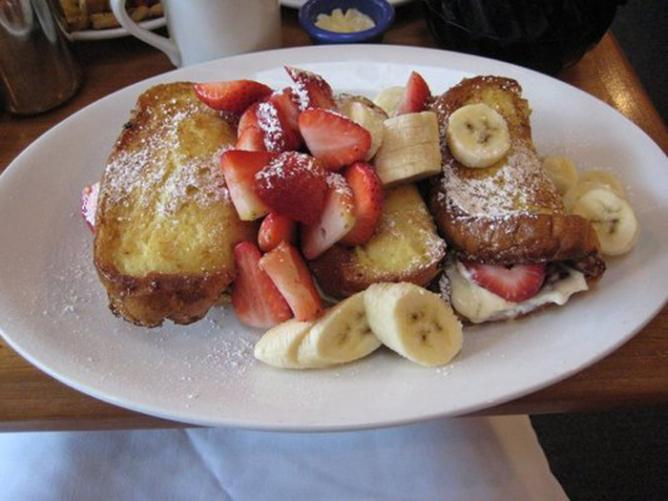 Stuffed French Toast/Courtesy of The Cottage