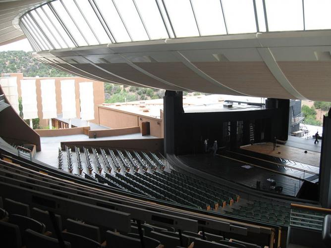 Crosby Theater at the Santa Fe Opera
