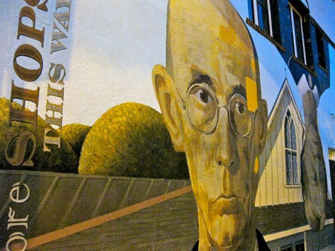 Street Art in the Short North Arts District | Courtesy Richie Diesterheft