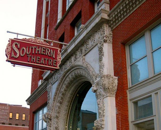 Southern Theatre Arch | Courtesy Richie Diesterheft