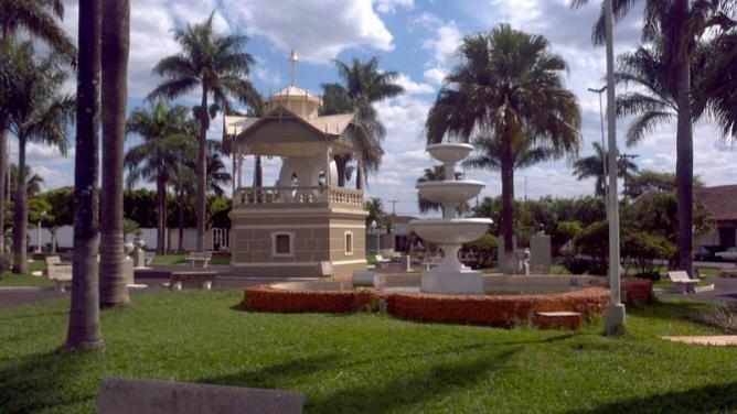 The town where Portinari was born