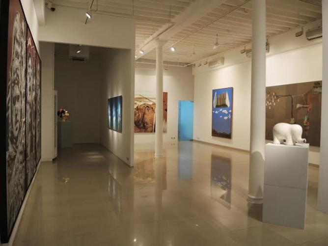 Installation view of Sakshi Art Gallery | Courtesy of Sakshi Art Gallery