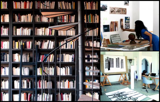 FELLAH Hotel, Dar al-Ma'mun Library and Arts Centre