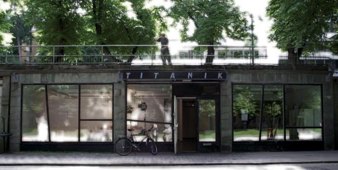 Titanik Gallery exterior | Courtesy of Titanik Gallery