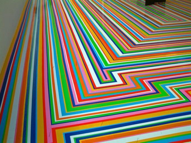 Jim Lambie at Fruitmarket Gallery