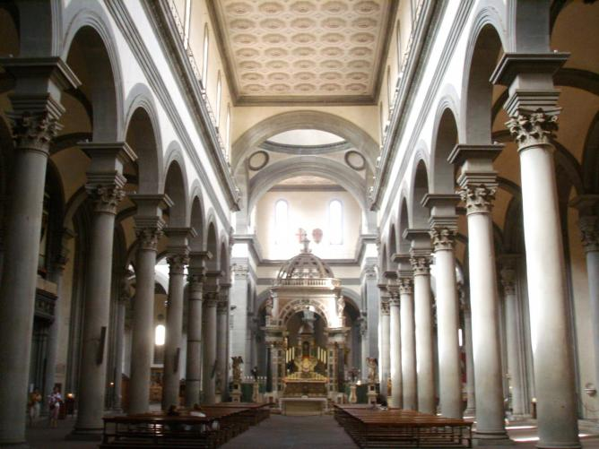The ornate interior of Santo Spirito | © Caricato da Lucarelli/WikiCommons