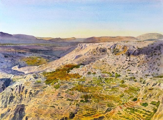Jebel Akhdar   Image Courtesy of Alan Reed