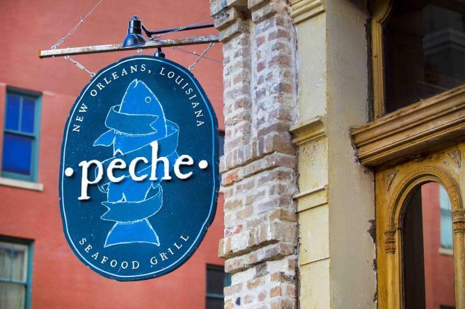 Exterior of Peche | © Chris Granger