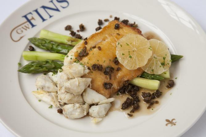 Flounder and Lump Crab | Image Courtesy of GW Fins