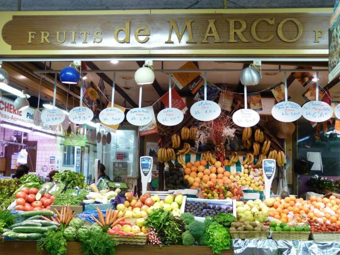 Food Markets in Paris