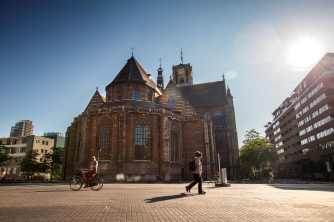 Grote of Sint-Laurenskerk from behind | © Rotterdam Marketing