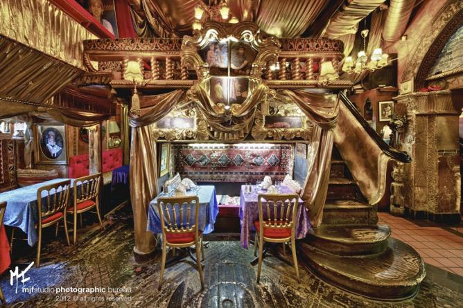 Quirky restaurants in london england