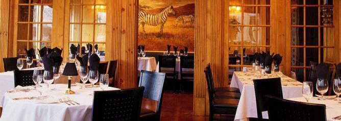 Image courtesy of Zebra Restaurant