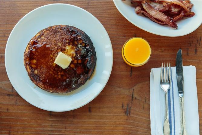 Vinegear Hill House Sourdough Pancakes | Courtesy the Restaurant
