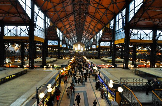 Budapest Great Market Hall | © Dd-ang2s/WikiCommons