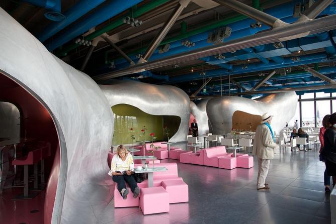 Image result for georges restaurant pompidou center