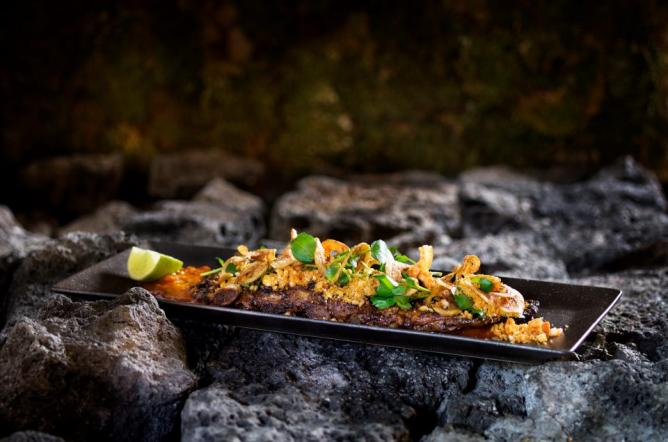 A grilled dish | Courtesy Grillmarkadurinn