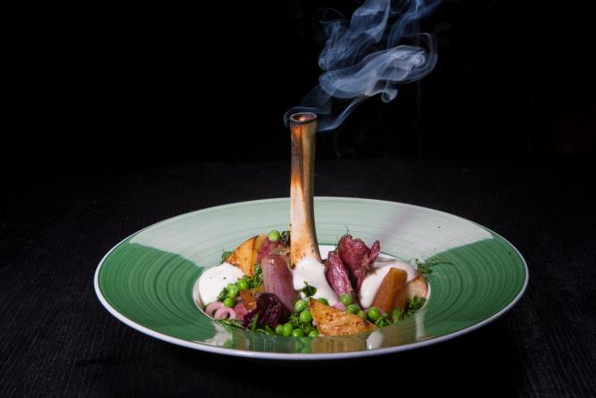 One of Fiskfelagid's signature dishes | Courtesy Fiskfelagid