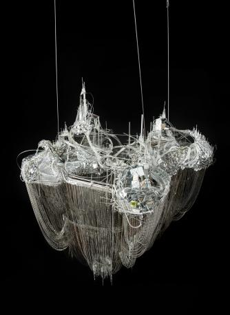 Lee Bul, After Bruno Taut (Devotion to Drift), 2013, mixed media | Courtesy Studio Lee Bul, Art Fund, The New Art Gallery Walsall, Birmingham Museums Trust and Ikon Gallery