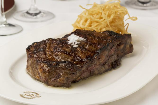 Delmonico Steak | Courtesy of Delmonico's Restaurant