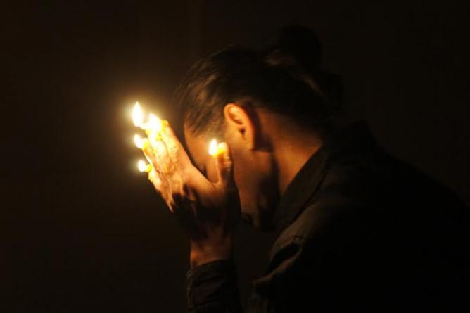 Jason Lim, Duet with Light, 2012, Venice | Courtesy the artist and Gajah Gallery