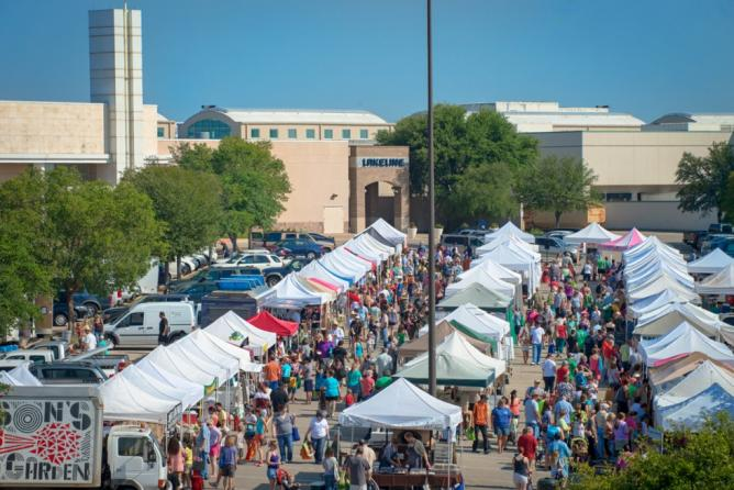 Cedar Park Market Tents   Courtesy Cedar Park Farmers' Market